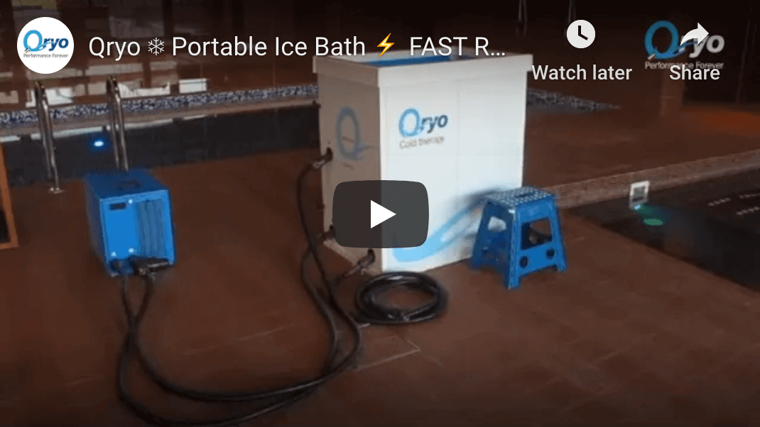 Video Assembly Qryo Portable Ice Bath Cryotherapy